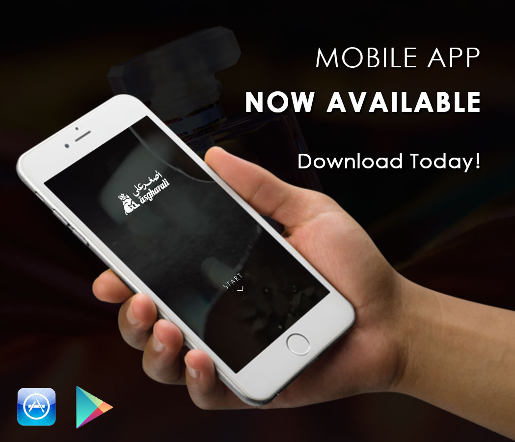 asgharali perfumes Mobile app