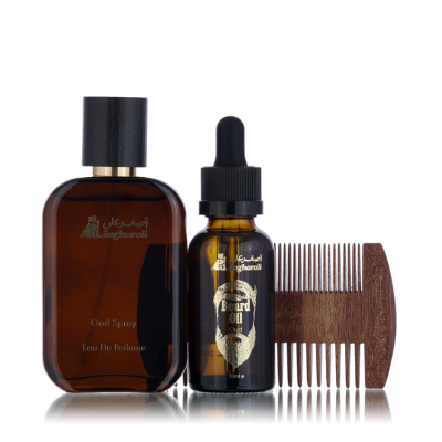 BEARD OIL SET OUD