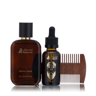 BEARD OIL SET TOBACCO
